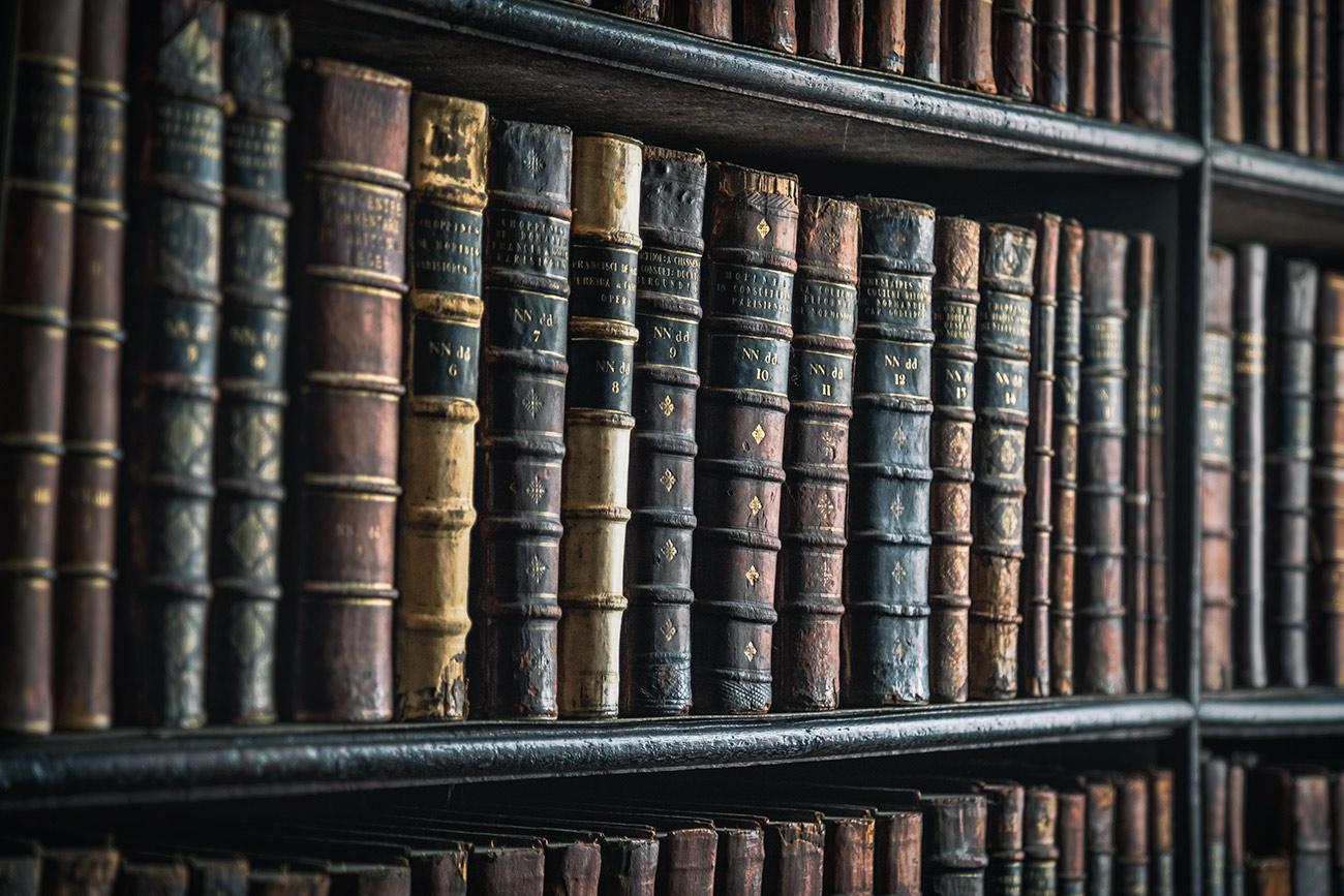 The amazing Trinity Library of Dublin, Ireland