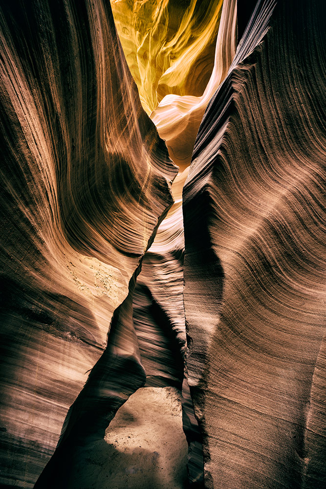 The amazing Antelope Canyon in Arizona