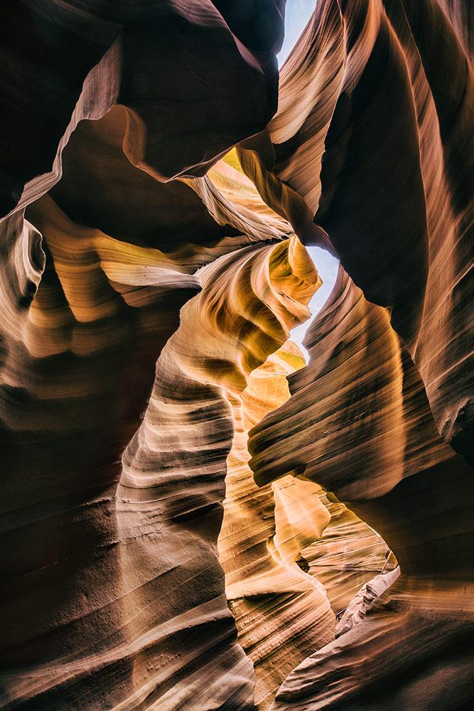 Lower Antelope Canyon in Page, Arizona