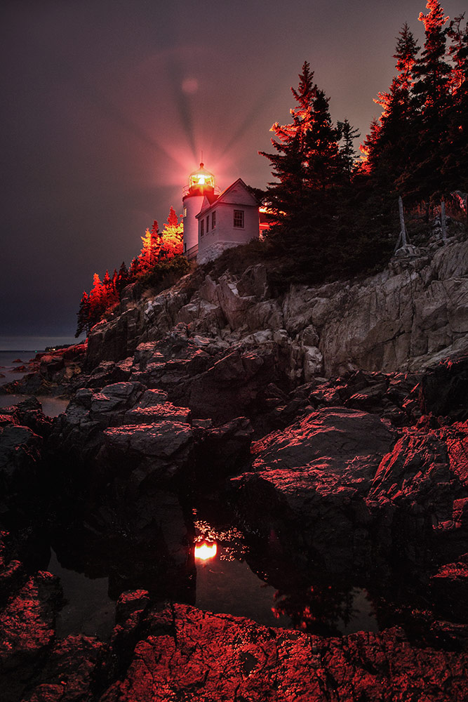 The Lighthouse at Bass Harbor, Maine