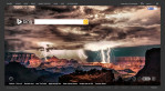 Lightning over the Grand Canyon on Bing