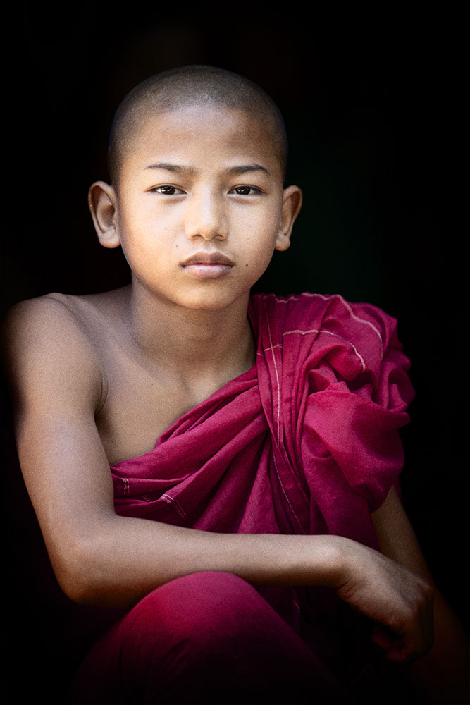 My little buddy in Bagan, Burma