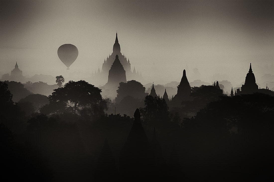 the temples of Bagan Myanmar