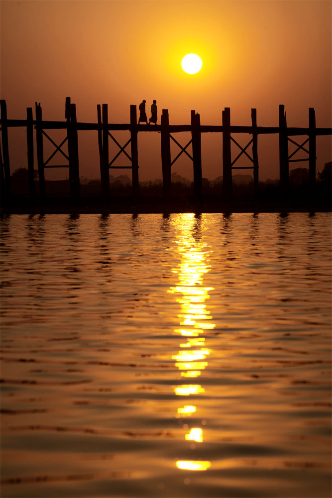 The Ubein Bridge, Burma