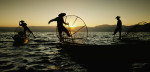 The amazing Inle Lake fisherman