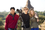 my amazing guide and my beautiful Holly in Bagan
