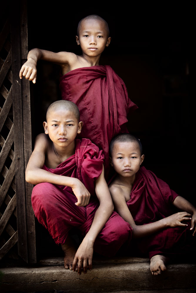 my favorite little guys in Burma