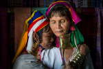 The Padaung ring necked women of Inle Lake