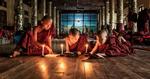 burma_monks_candlelight_monastery_sweet