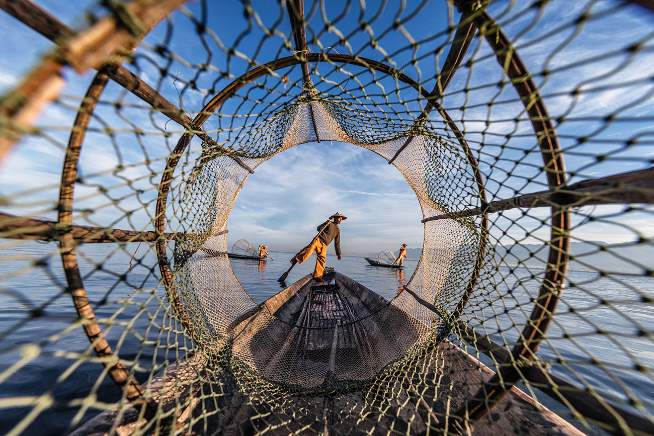 The fisherman of Inle Lake, Burma