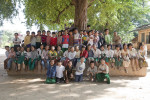A group shot at my favorite school in Mandalay