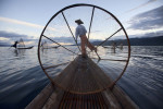 Th amazng Inle Lake fisherman