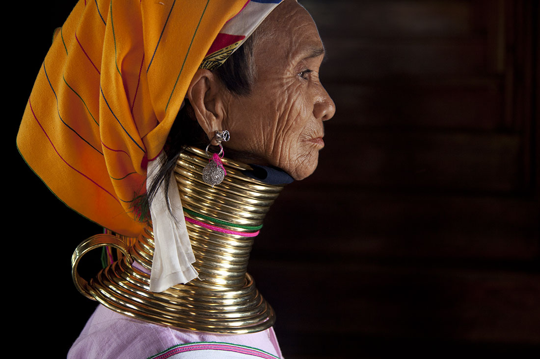 The Ring Necked women of Inle Lake, Burma