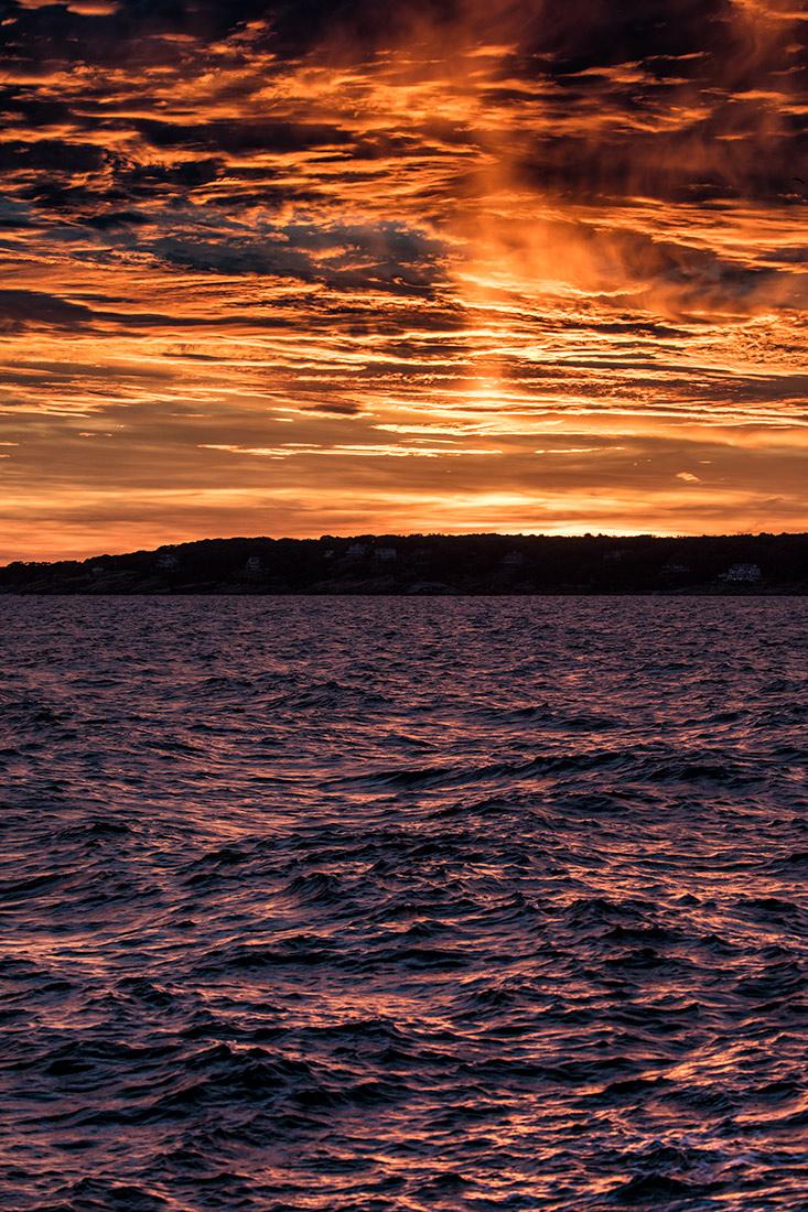 Sunset on Marthas Vineyard