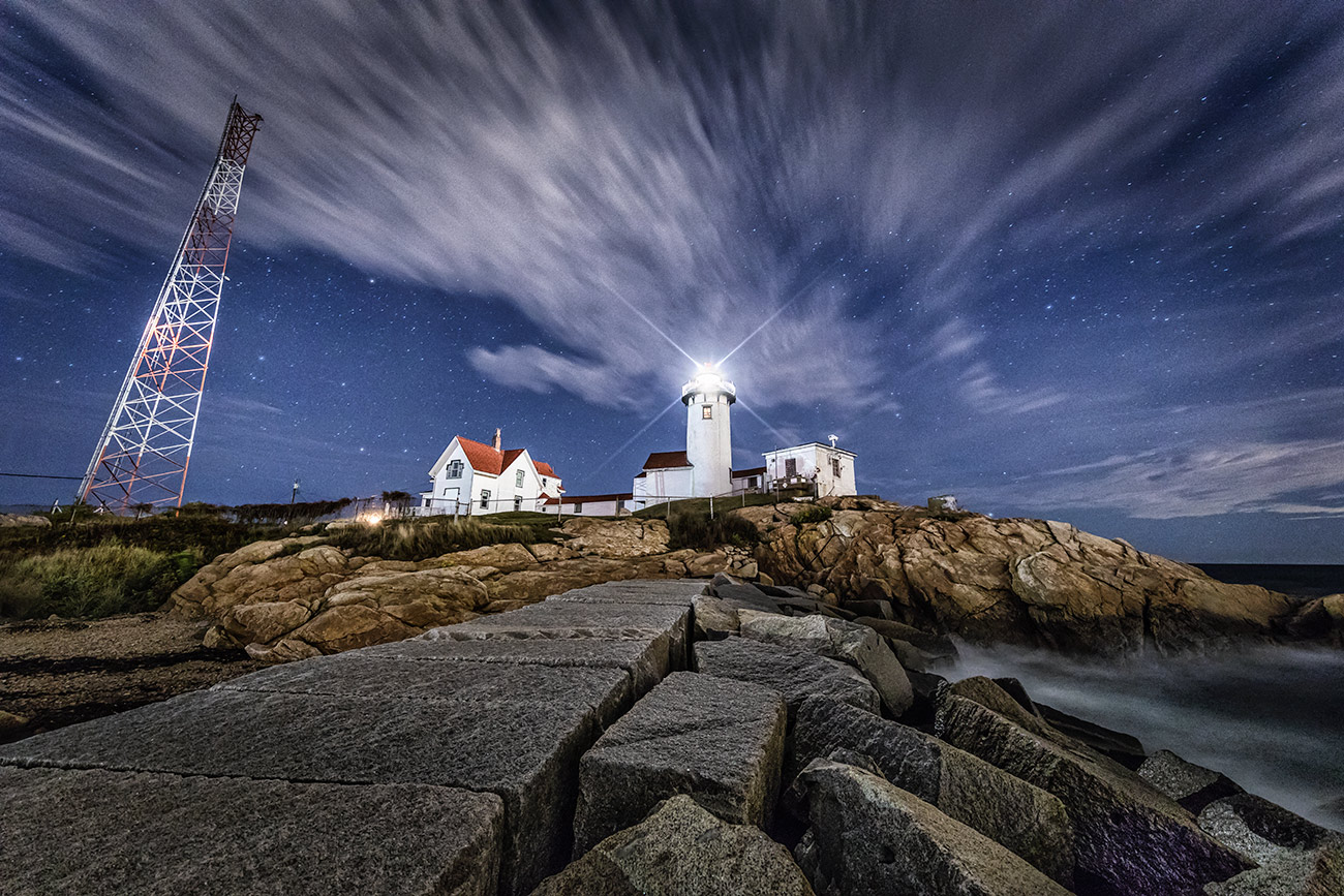 Eastern Lighthouse in Rockport, Maine