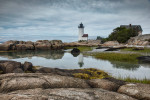 Annisquam Harbor Lighthouse in Massachusetts