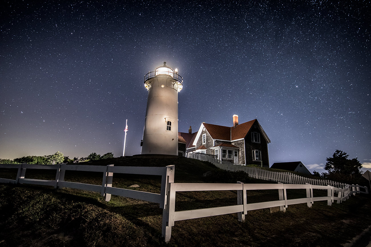 Nobska lighthouse in Cape Cod, Massachusetts