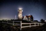 Nobska lighthouse in Cape Cod, Massachusetts