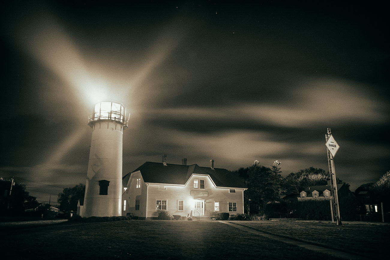 Chatham Light in Cape Cod, Massachusetts