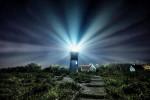 Nauset Lighthouse in Cape Cod, Massachusetts