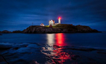 Nubble Lighthouse on the east coast of Maine