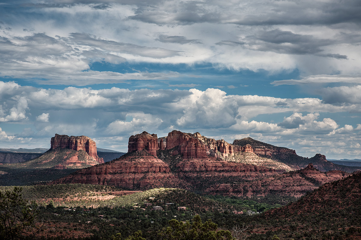 Cathedral rocks in Sedona