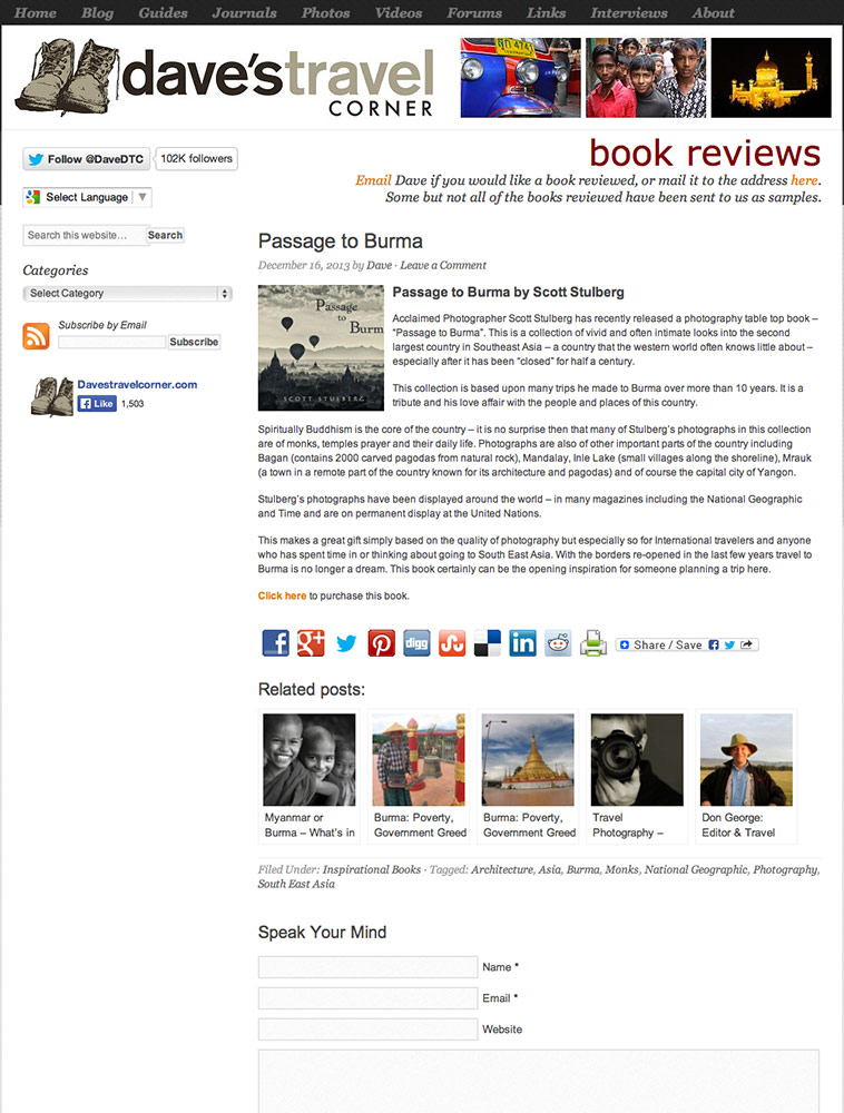 Book review of Passage to Burma