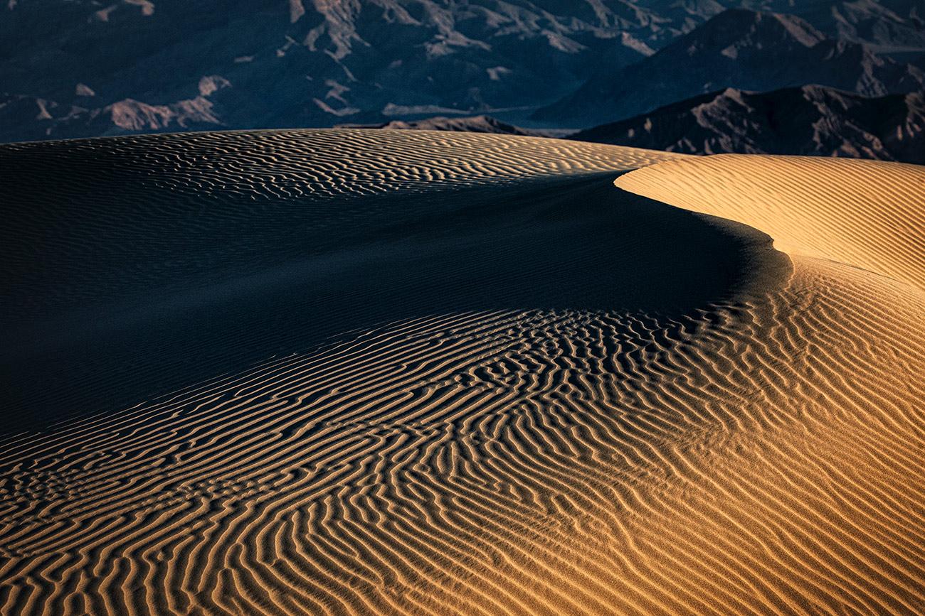 The amazing Mesquite Sand Dunes