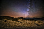 Milky Way over Zabriski Point