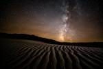 Milky Way over the Mesquite Sand Dunes