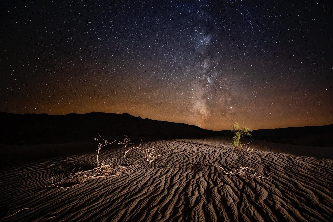 Milky Way over the Sand Dunes