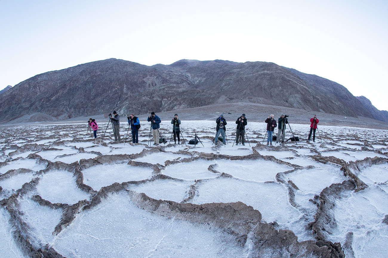 Badwater at sunrise