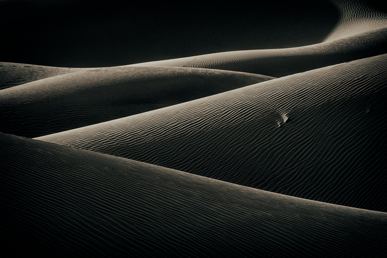 The mesmerizing sand dunes
