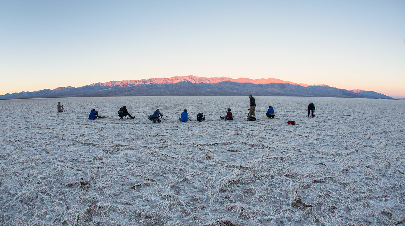Sunrise at Badwater