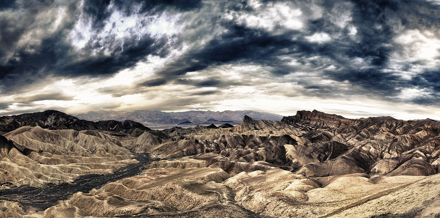 Zabriski Point at sunrise