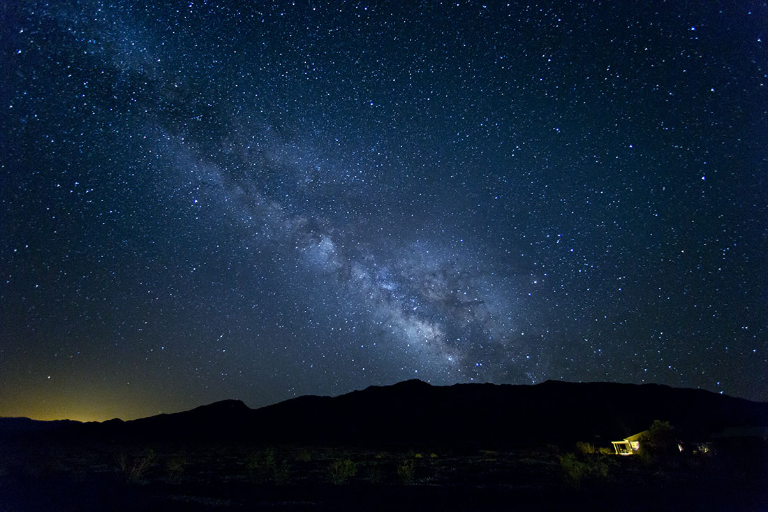 The Milky Way over Stovepipe Wells