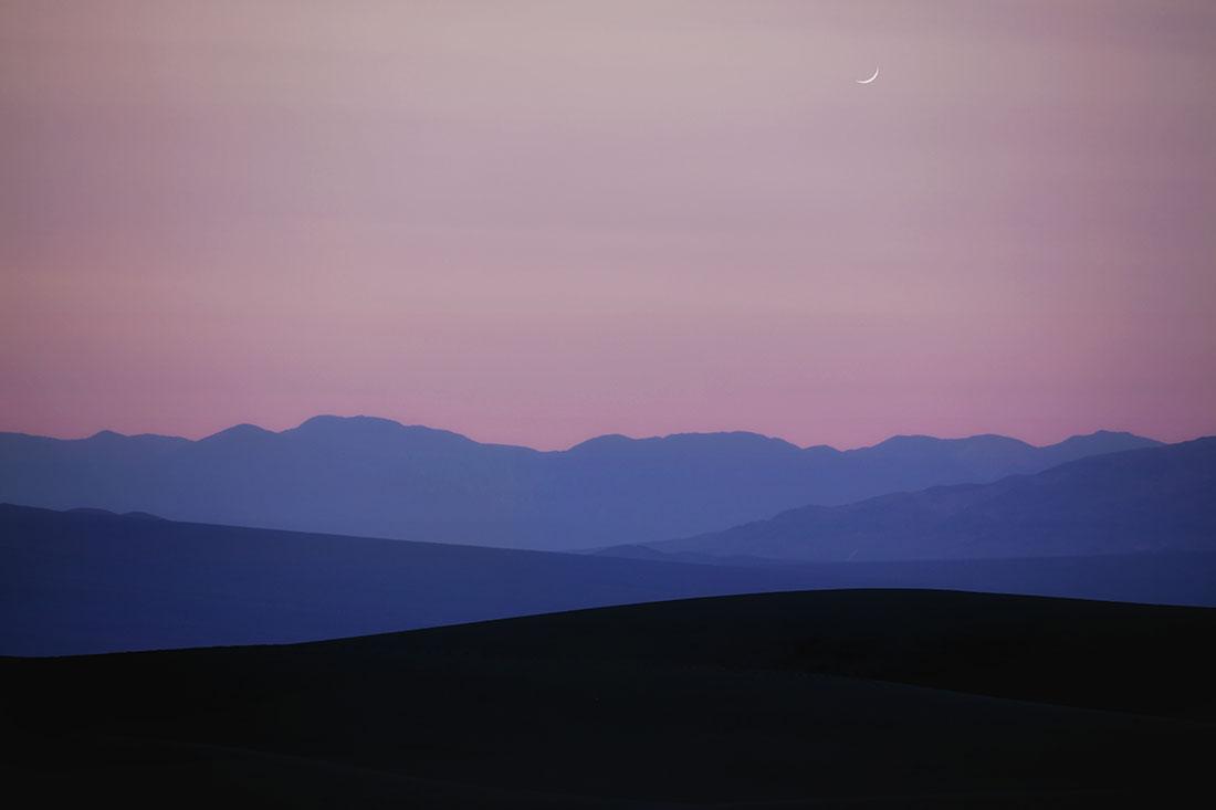 Aguereberry Point at sunset