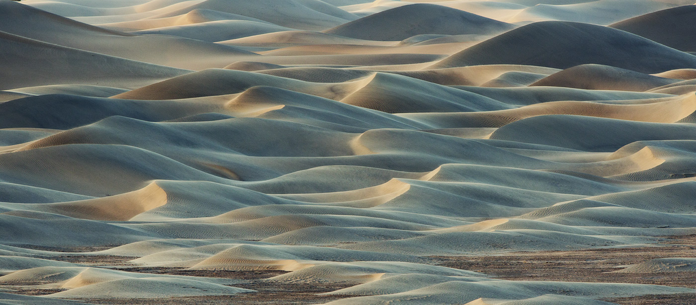Those incredible sand dunes in Death Valley