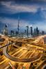 The incredible Burj Khalifa and skyline of Dubai