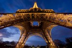 The amazing Eiffel Tower at twilight