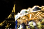 The Merry Go Round near the Eiffel Tower