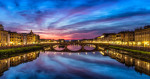 florence_bridge_sunset_2
