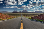 Forrest Gump Road, Monument Valley