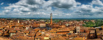 Amazing Siena from above