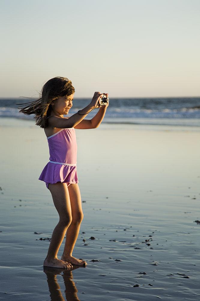 Beautiful Alyssa at the beach