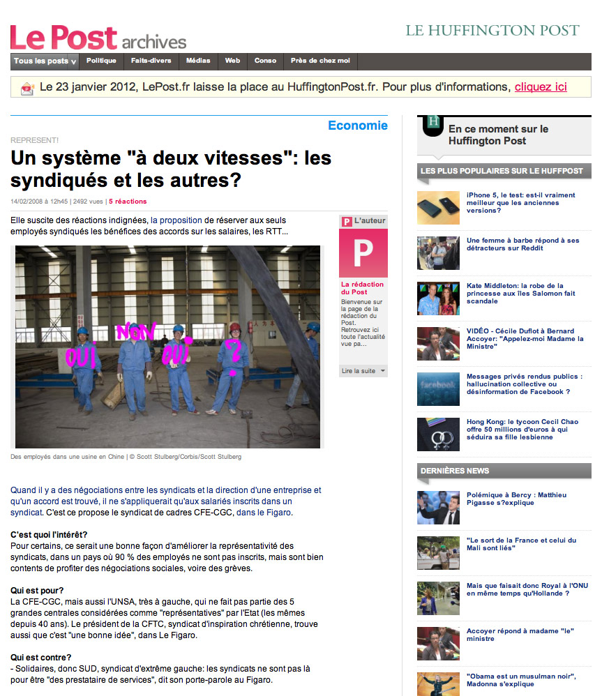 Huffington Post France