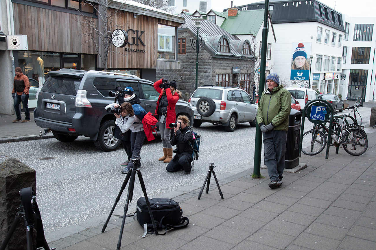 Shooting in downtown Reykjavik