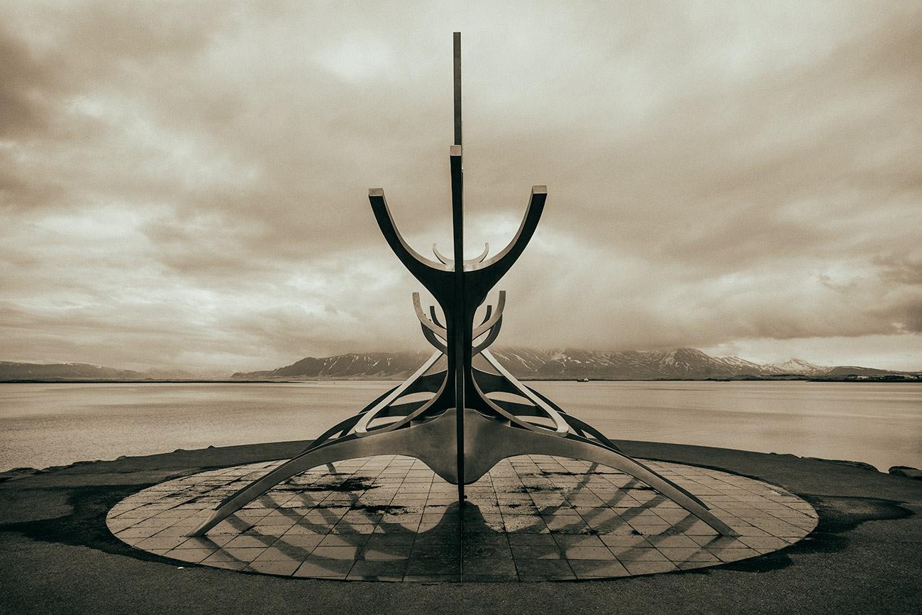 Solfar Sun Voyager in Reykjavík