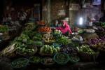 Vegetable market in Jaipur