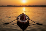 Sunrise on the Ganges, Varinasi, India